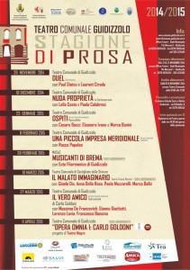 STAGIONE DI PROSA 2014-2015