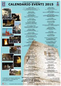 Calendario Eventi 2015 50x70